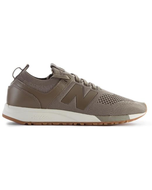New Balance Men's M770skf Made In England Black & Mushroom Brown Trainers