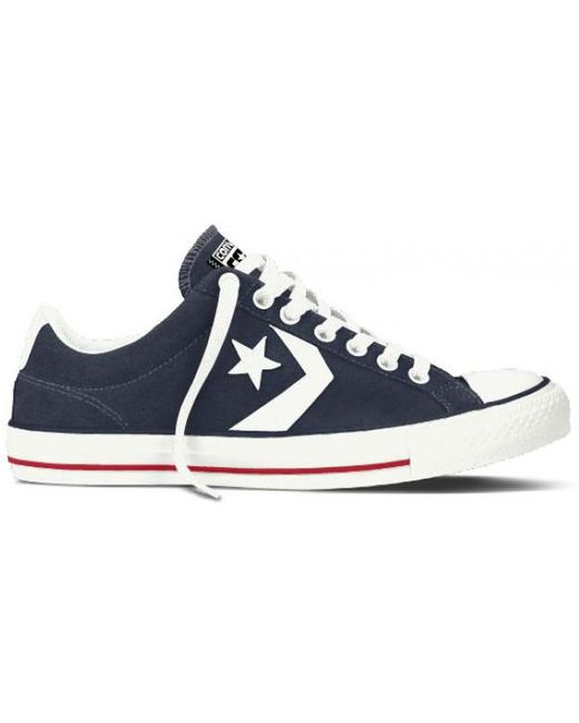 Converse Men's Blue One Star Ox Trainers