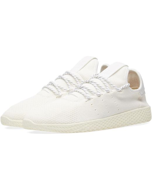 adidas Men's White X Pharrell Williams Hu Stan Smith 'blank Canvas'