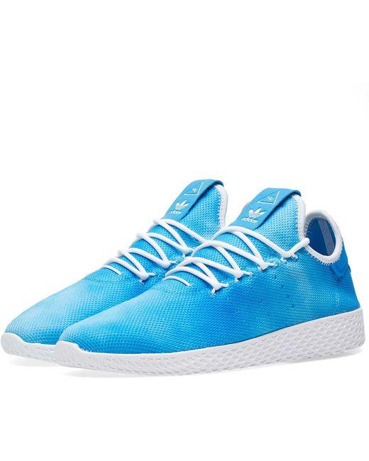 adidas Men's Green X Pharrell Williams Hu Holi Tennis