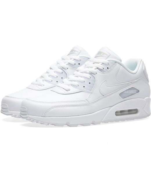 Nike Men's White Air Max 90 Essential