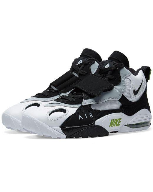 Nike Men's Black Air Max Speed Turf Sneakers