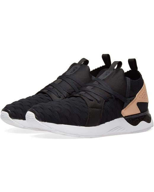 Asics Men's Black Gel Lyte V Sanze Knit