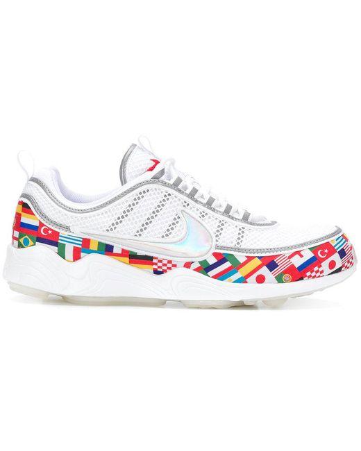 Nike Men's White Air Huarache Run 91 Sneakers