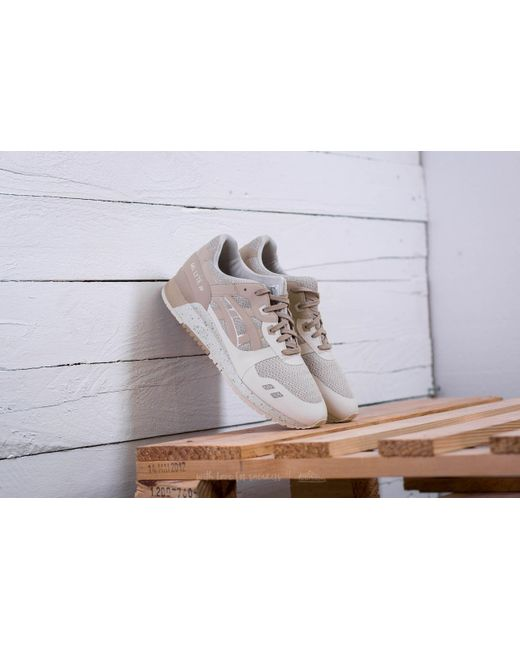 Asics Natural Mens Birch Beige / Monument Gel-lyte Trainers