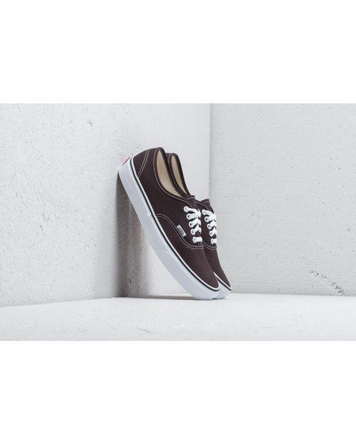 Vans Men's Brown Chocolate Torte/true White Old Skool Trainers
