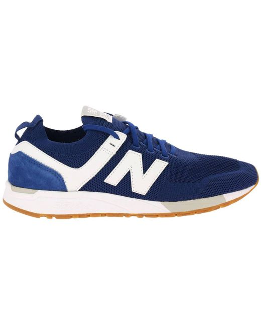 New Balance Blue Sneakers Shoes Men