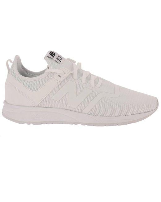 New Balance White Shoes Men