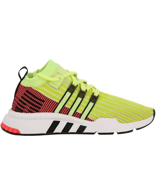 adidas Originals Yellow Sneakers Shoes Men