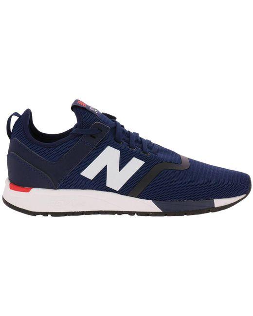 New Balance Blue Sneakers Shoes Men