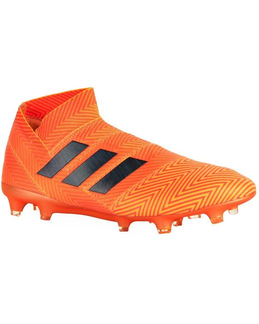 adidas Men's Blue Predator 18+ Firm Ground Football Boots