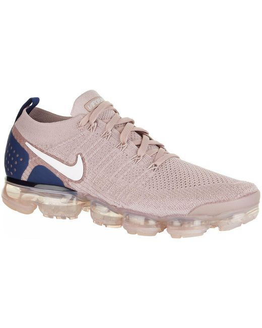 Nike Men's White Air Vapormax Flyknit 2 Trainers