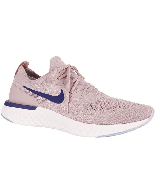 Nike Men's White Epic React Flyknit Trainers