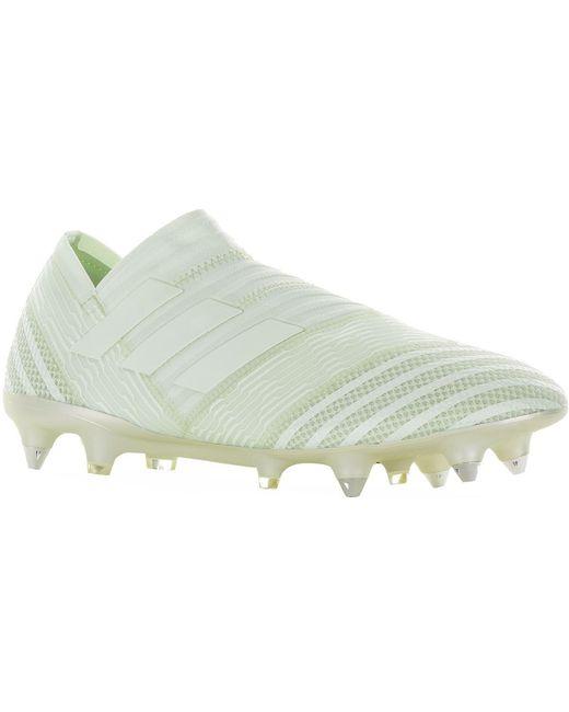 adidas Men's Green Nemeziz 17+ 360 Agility Firm Ground Football Boots