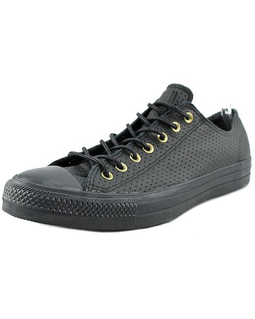 Converse Black Men's Chuck Taylor Classic All Star Lace Up Sneakers