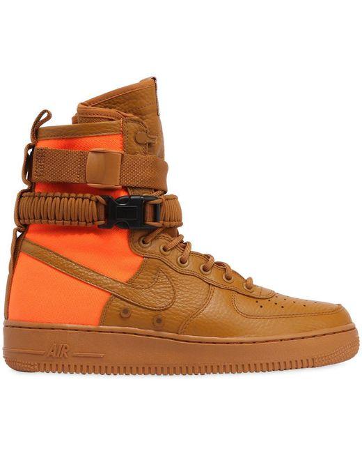Nike Men's Air Force 1 Special Field Mid Sneakers