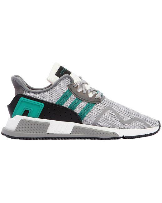 adidas Originals Men's Black Eqt Cushion Adv Sneakers