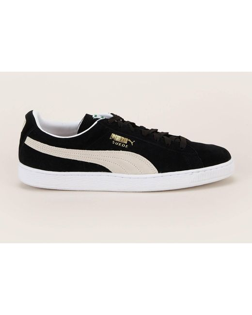 PUMA Men's Black Low-top Trainer
