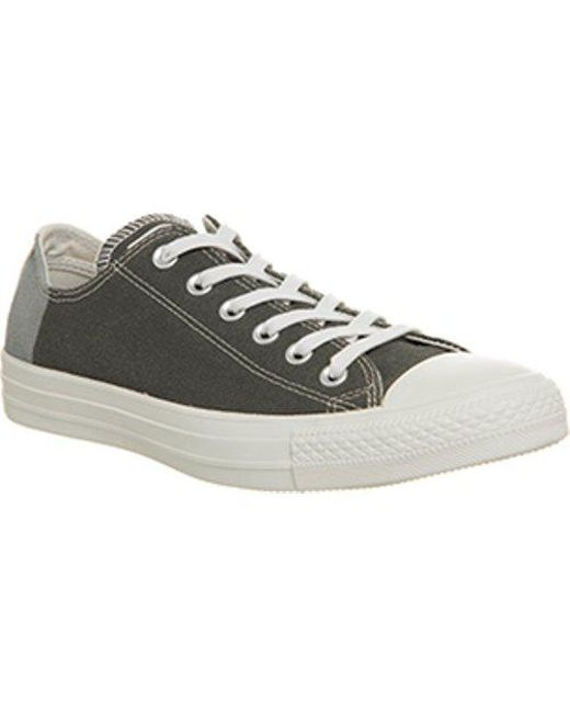 Converse Men's Gray All Star Low