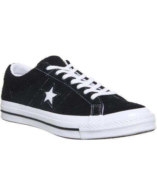 Converse Men's Black One Star