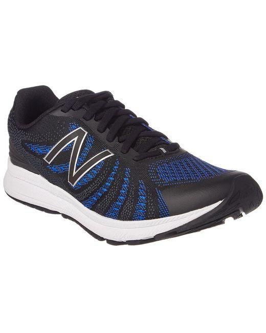 New Balance Men's Black Rush V3 Running Shoe
