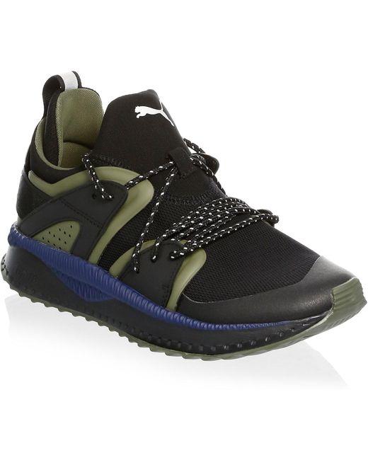 PUMA Men's Black Te-ku Suede Low-top Sneakers