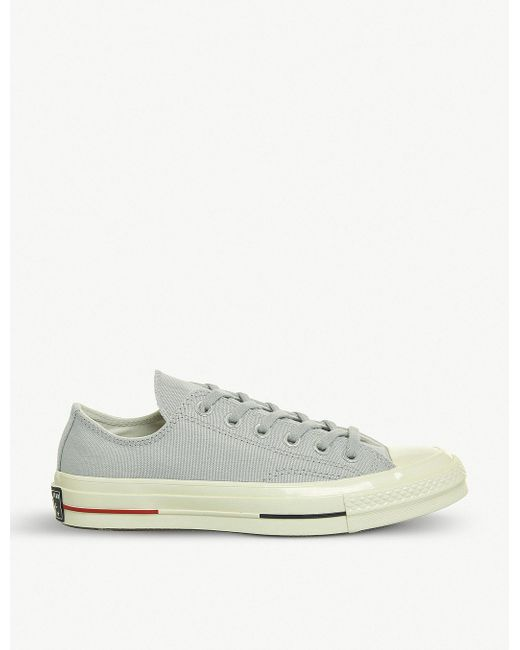 Converse Men's Yellow All Star Ox 70's Canvas Low-top Trainers