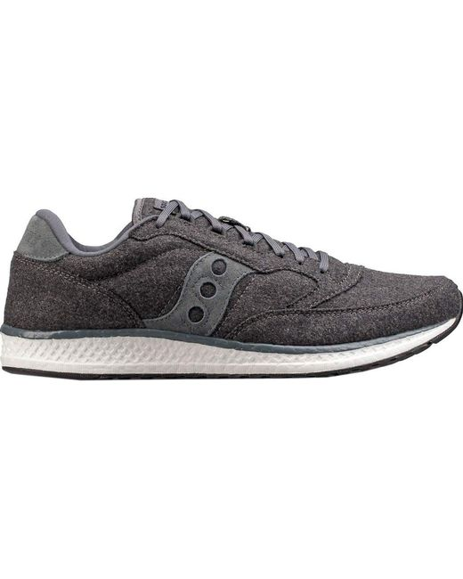 New Balance Men's Gray Woolrich 997 Nubuck & Wool Sneakers