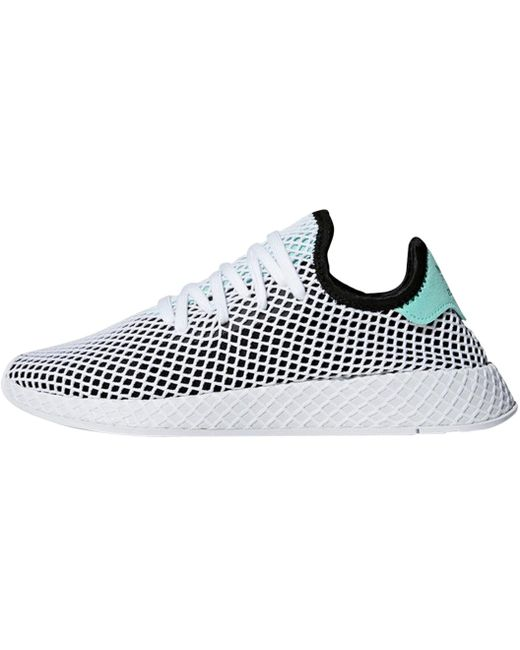 adidas Men's White Deerupt Runner