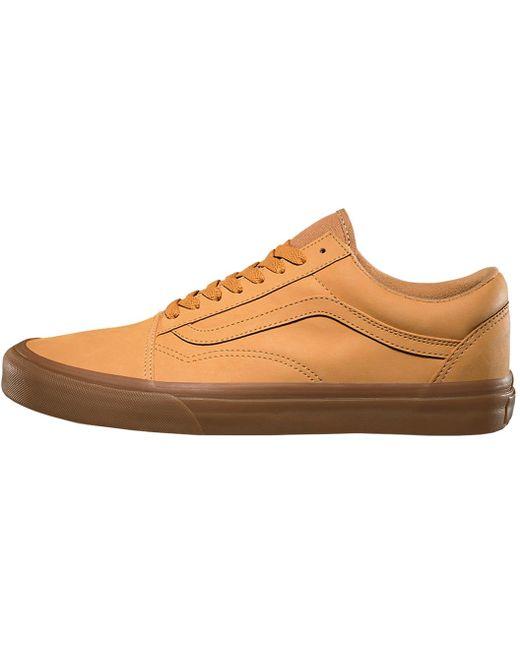 Vans Men's Pink Old Skool Leather