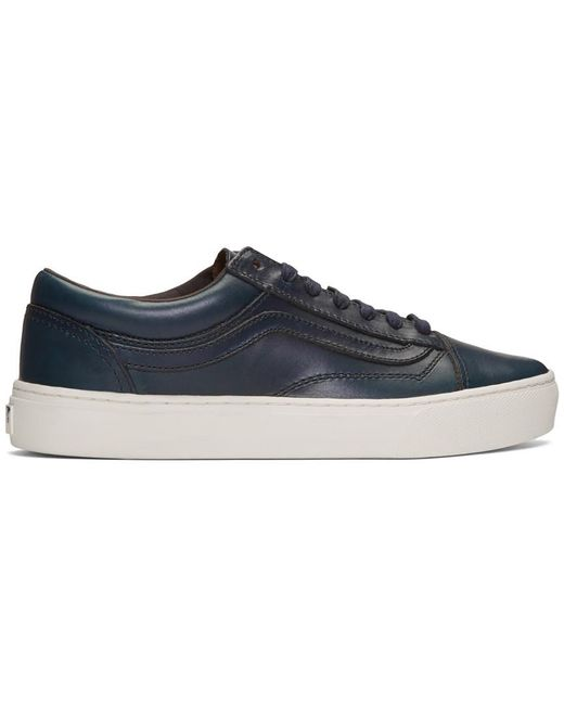 Vans Men's White Lqqk Studio Edition Authentic One Pie Sneakers