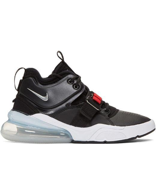 Nike Men's Black And White Air Vapormax Plus Sneakers