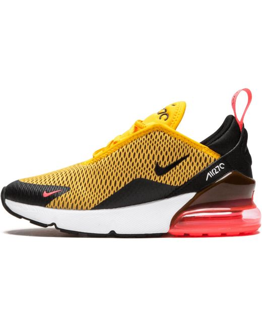 Nike Men's Yellow Air Max 270