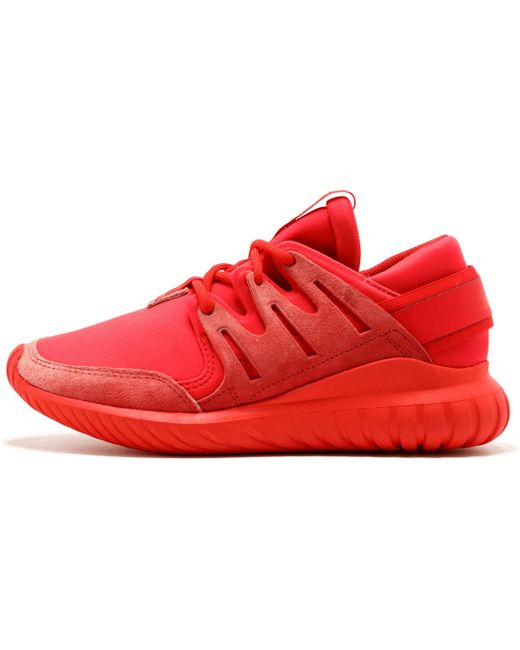adidas Men's Red Tubular Runner