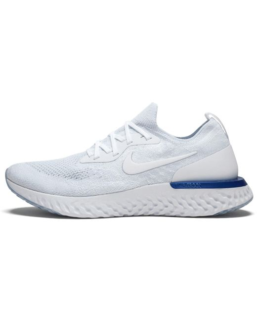 Nike Men's White Epic React Flyknit