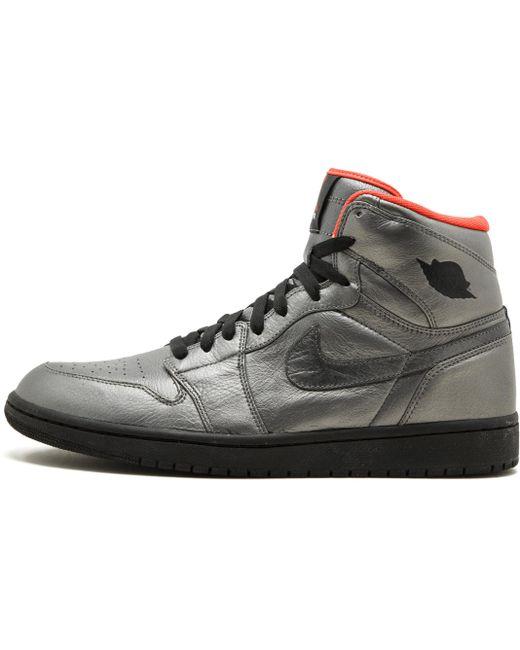 Nike Men's Gray Dunk High Sb Premier