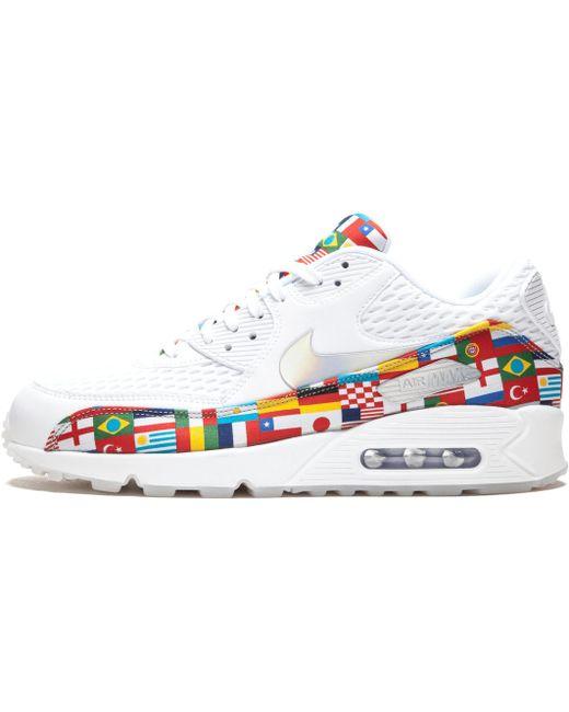Nike Men's White Air Max Plus Nic Sneakers