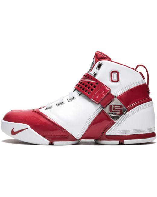 Nike Men's Red Zoom Lebron 5