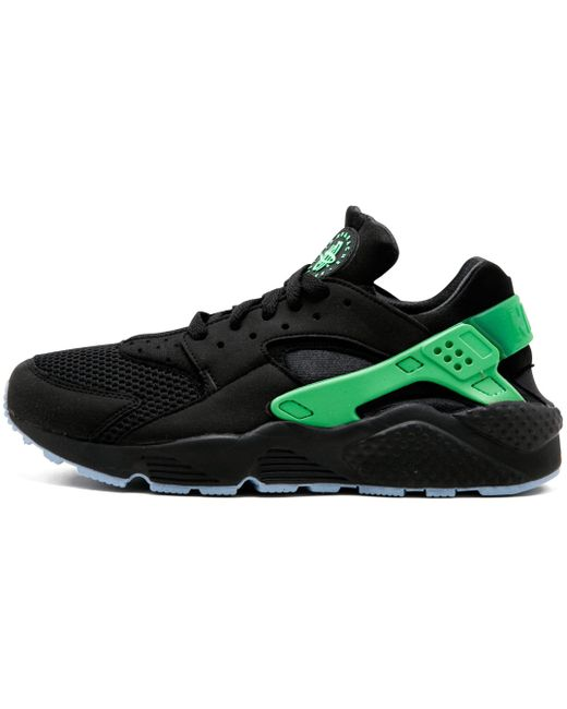 Nike Men's Black Air Huarache Run Prm