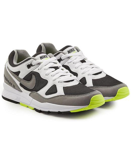 Nike Men's Blue Air Span Ii Sneakers