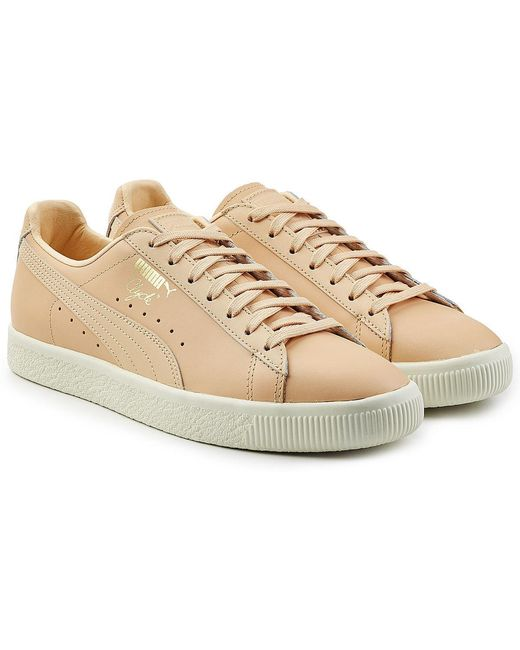 PUMA Men's Clyde Leather Sneakers