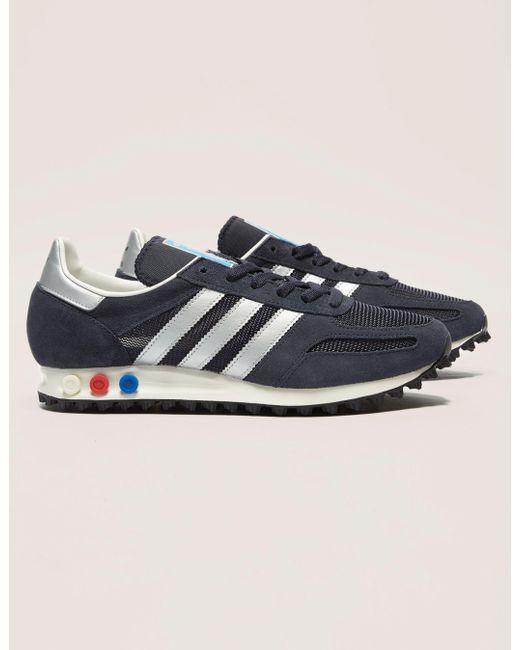 adidas Originals Men's Blue La Trainer Og