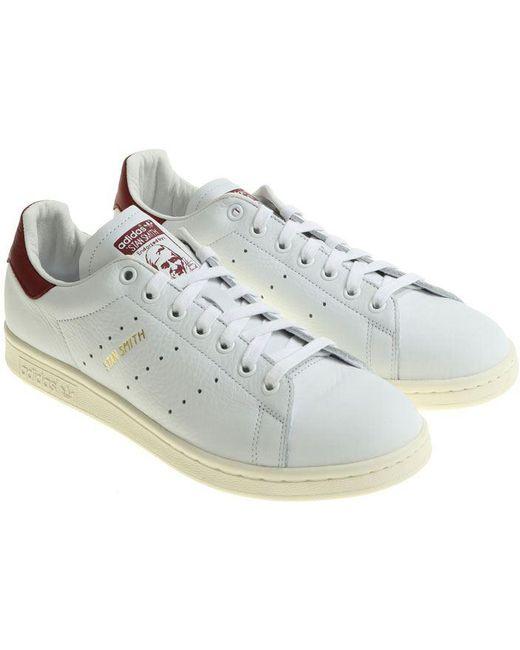 adidas Originals Men's White Stan Smith