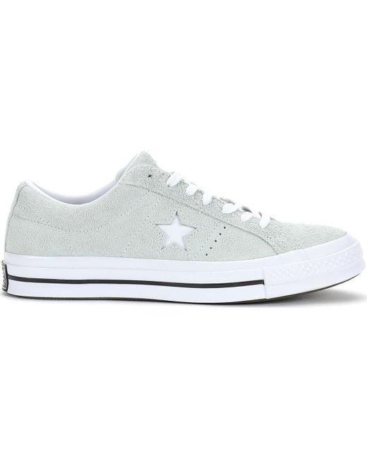 Converse Men's Blue One Star Ox