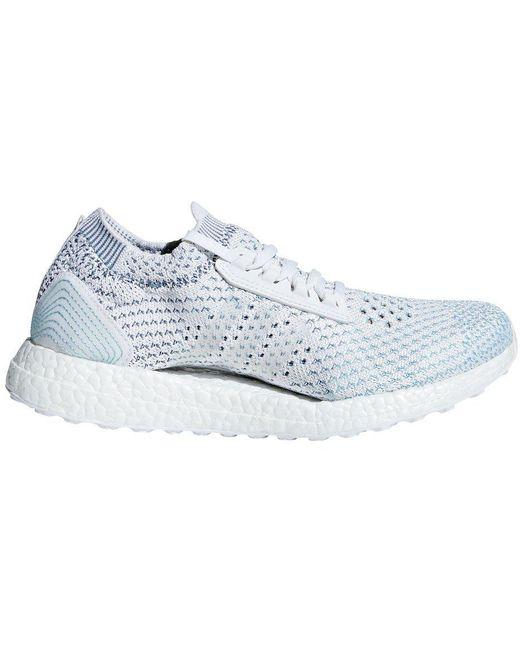 adidas Men's White Ultra Boost Parley Ltd