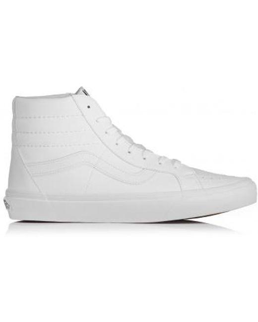 Vans Men's White Av Classic High
