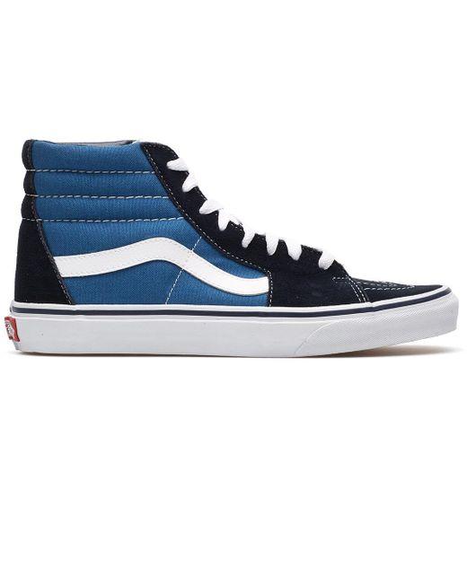 Vans Men's Blue Sk8-hi Sneaker