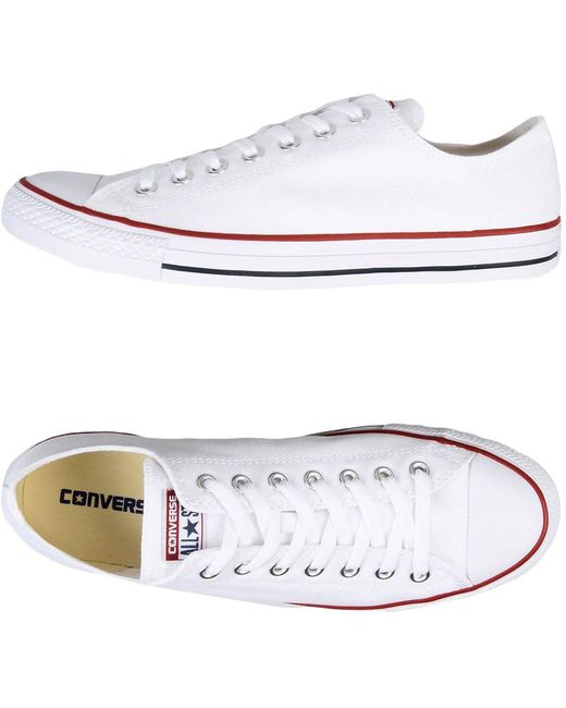 Converse Men's White Low-tops & Sneakers
