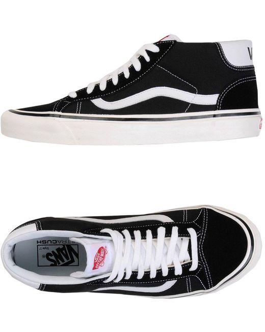Vans Men's Black High-tops & Sneakers