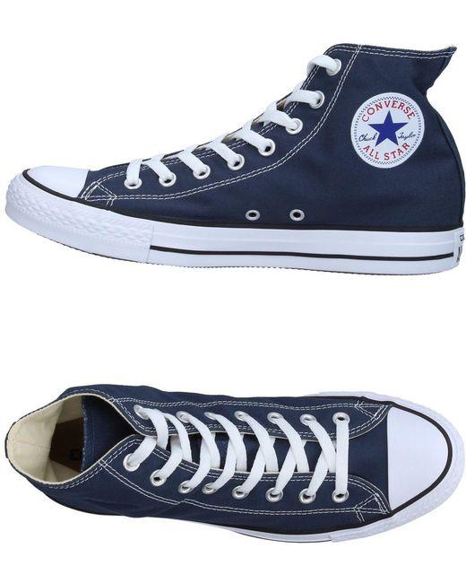 Converse Men's Purple High-tops & Sneakers